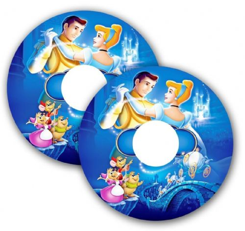CINDERELLA PRINCE Wheelchair Spoke Guard Sticker Skins